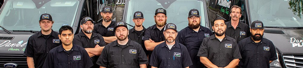 Daniel's Plumbing and Air Conditioning Team in Austin TX